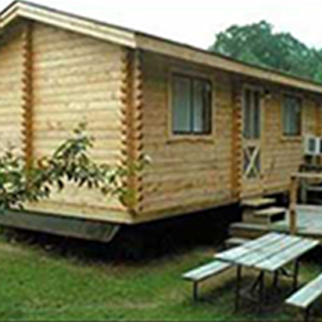 Exterior photo of Deluxe Cabins