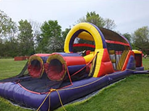 photo of bouncy house