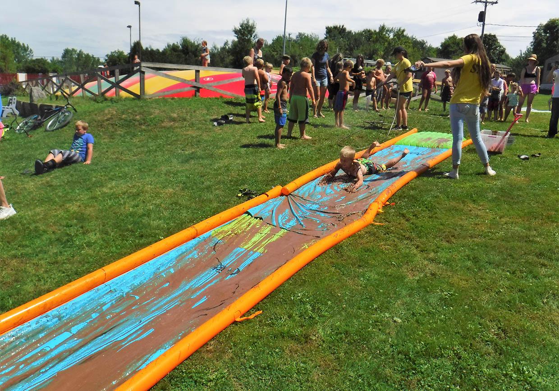 chocolate slip n slide